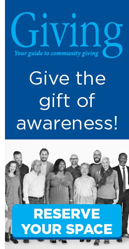 Ad: Giving Guide 2020 - Give the gift of awareness - reserve space today